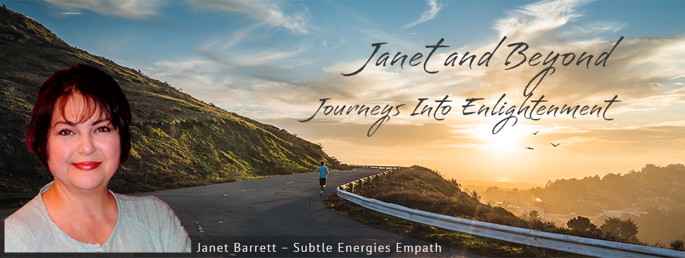 Banner for Janet Barrett: Consciousness Educator and Subtle Energies Empath